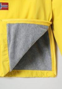 Napapijri - RAINFOREST WINTER - Light jacket - yellow oil - 2