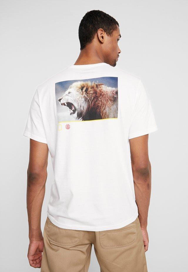 SNARL - T-shirt z nadrukiem - off white