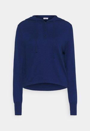 CHIARA HOODIE - Jumper - marine blue