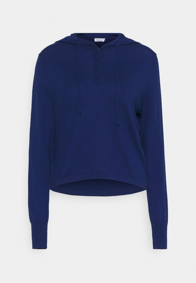 Filippa K - CHIARA HOODIE - Svetr - marine blue