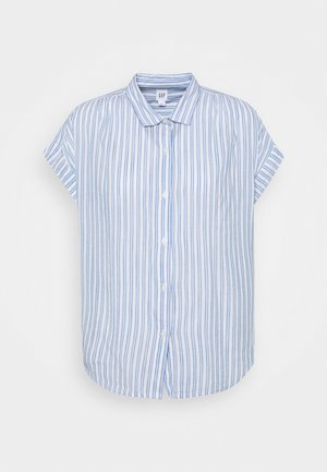 DRAPEY - T-shirt print - blue stripe