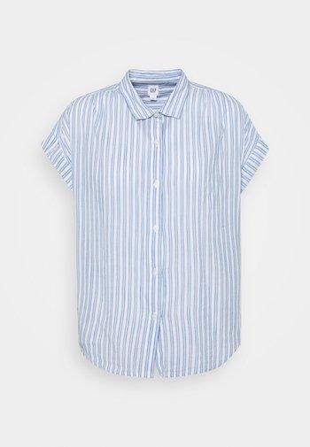 DRAPEY - Print T-shirt - blue stripe