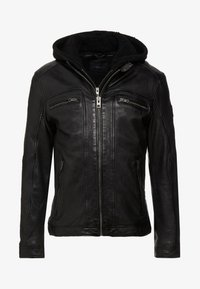 Oakwood - DRINK - Leather jacket - black - 6