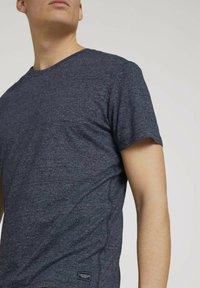 TOM TAILOR - Basic T-shirt - sailor blue grindle melange - 3