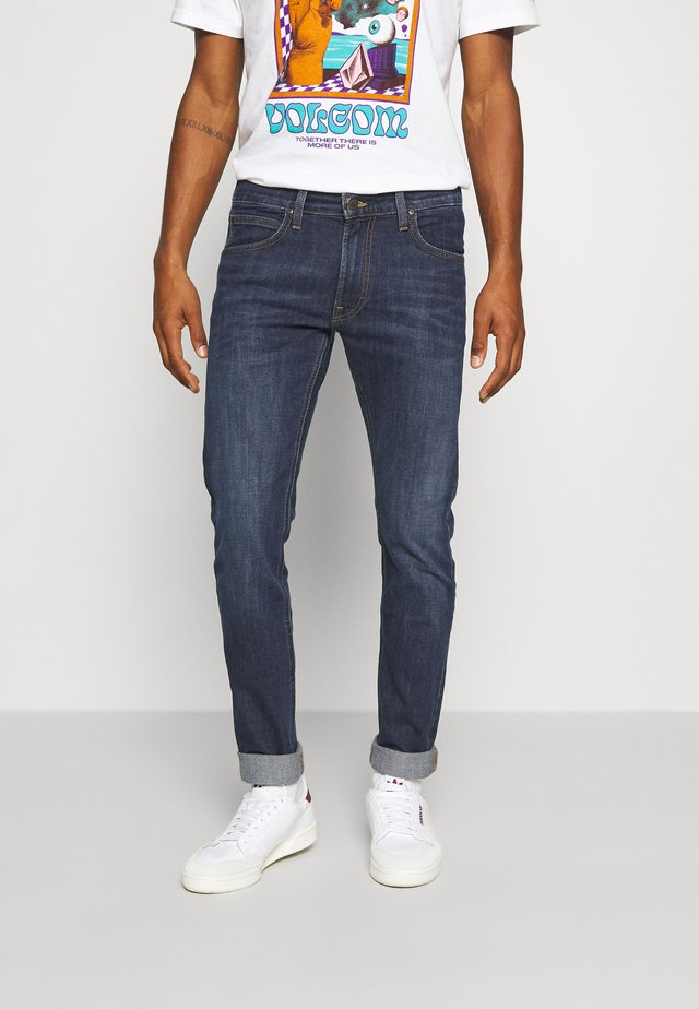 LUKE - Jeansy Slim Fit - dark westwater