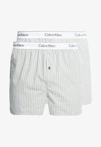 Calvin Klein Underwear - SLIM FIT 2 PACK - Bokserki - grey - 3