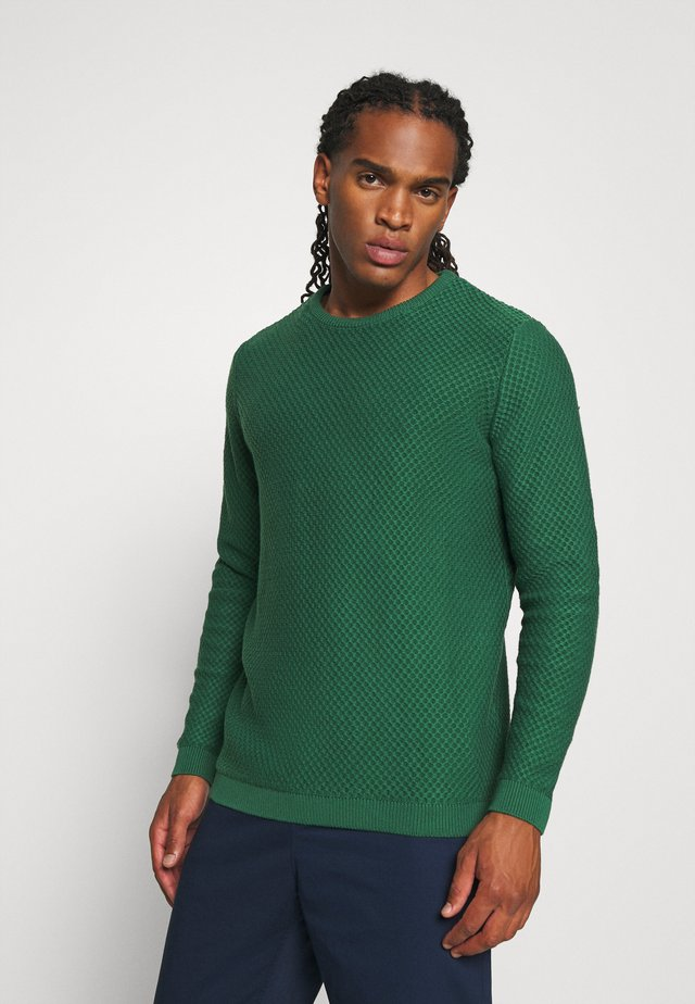 FIELD CREW NECK - Strickpullover - green