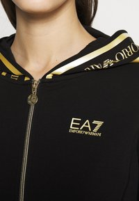 EA7 Emporio Armani - Mikina na zip - black - 3