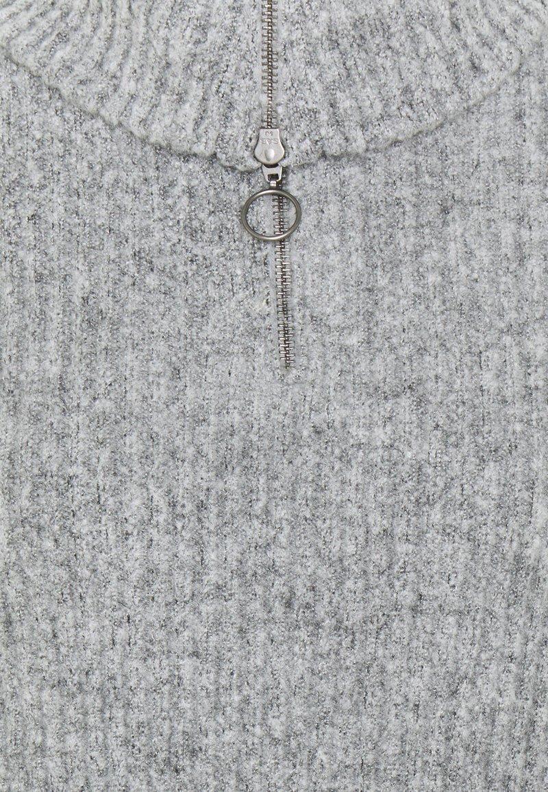 Object OBJRACHEL - Strickpullover - light grey melange/hellgrau-meliert jEjOZv