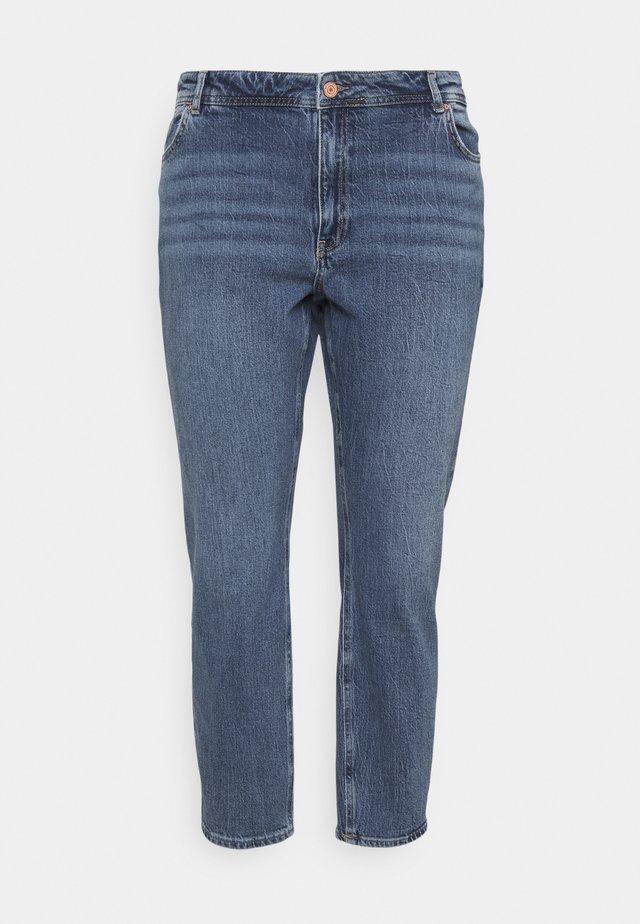 NMOLIVIA - Jeans a sigaretta - medium blue denim