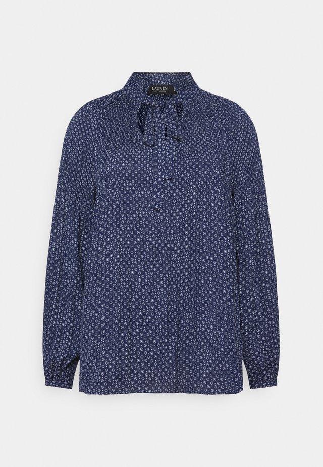 DRAPEY - T-shirt à manches longues - french navy/pale