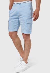 INDICODE JEANS - KINNAIRD - Shorts - light blue - 3
