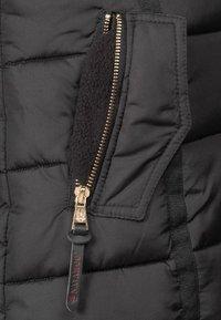 Navahoo - PAPAYA - Winter coat - black - 5