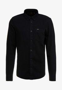 BUTTON DOWN - Shirt - black
