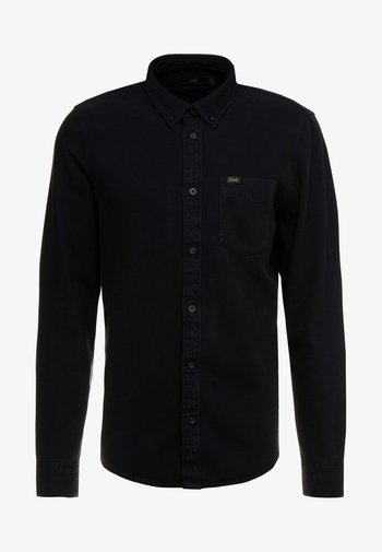 BUTTON DOWN - Overhemd - black