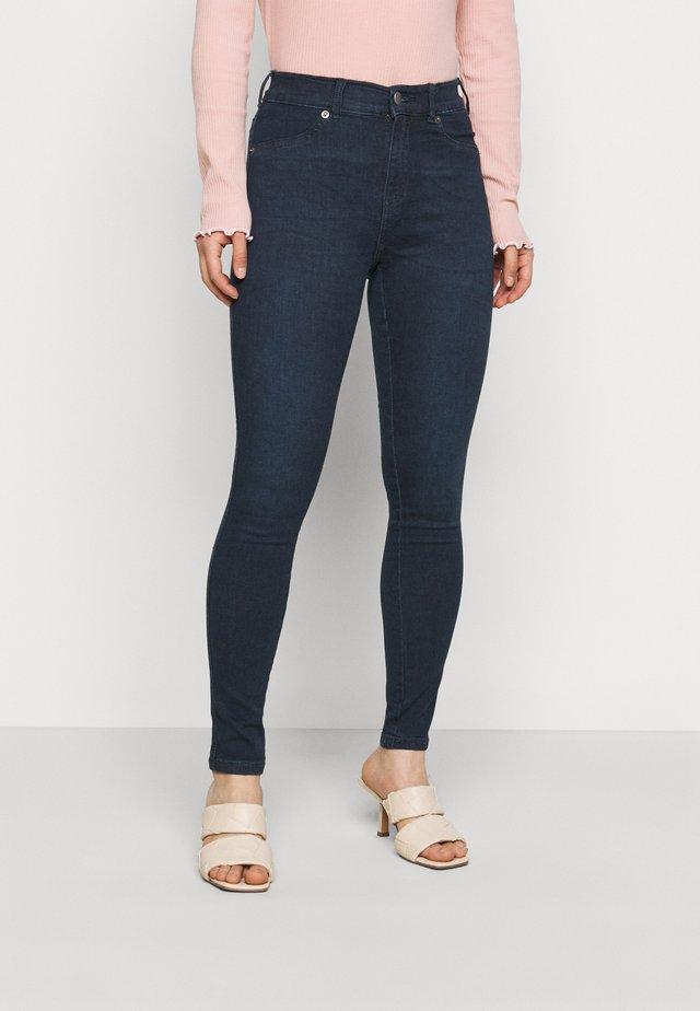 PLENTY - Skinny džíny - plum blue