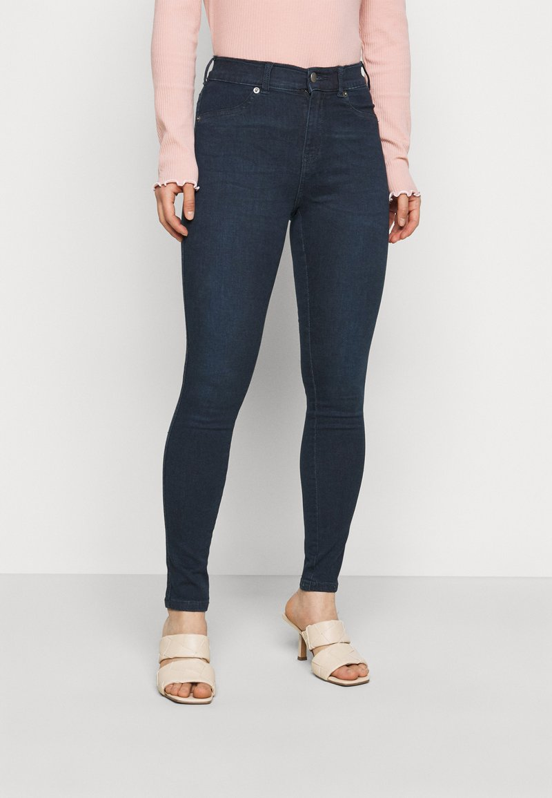 Dr.Denim Petite - PLENTY - Jeans Skinny - plum blue
