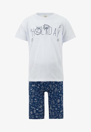 SET - Trousers - white