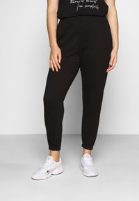 Missguided Plus - JOGGER 2 PACK - Trainingsbroek - black/grey - 1