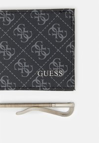 Guess - VEZZOLA MONEY CLIP - Monedero - black - 5