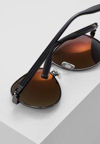 Mont Blanc - Sluneční brýle - ruthenium black/grey - 4