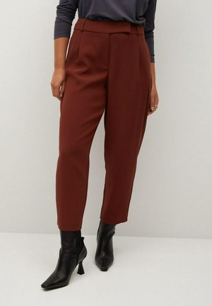 MARTINI - Spodnie materiałowe - weinrot