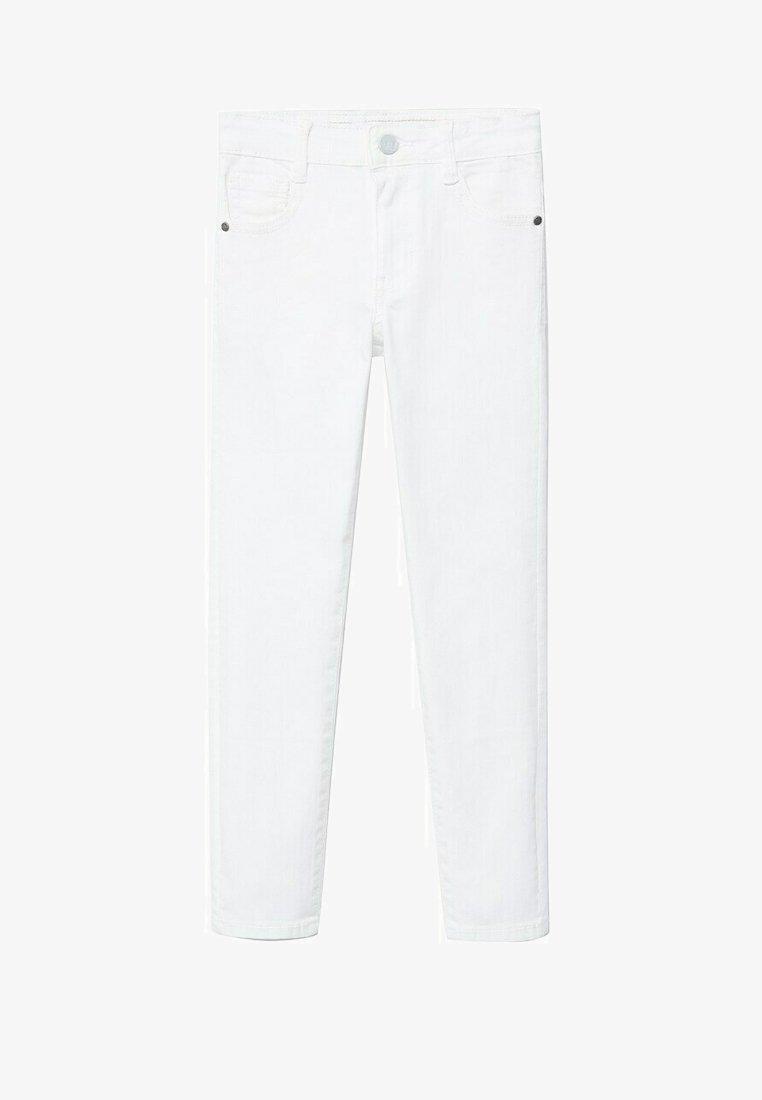 Mango - PERU - Slim fit jeans - wit