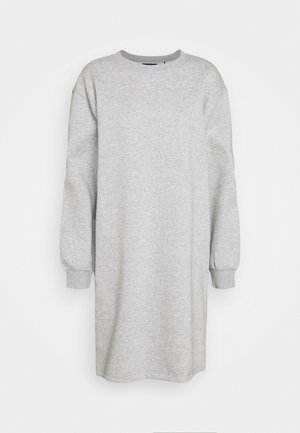 PCCHILLI LONG - Sweatshirt - light grey melange