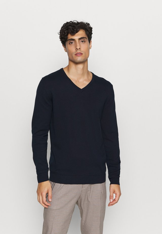 LANGARM - Maglione - dark blue