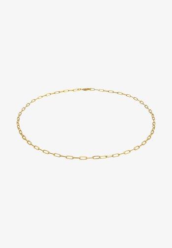 GLIEDER OVAL GROB BASIC  - Collier - gold