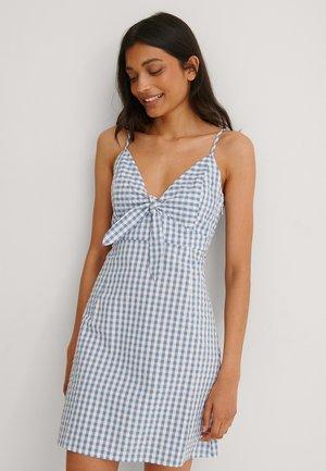 Day dress - blue/white