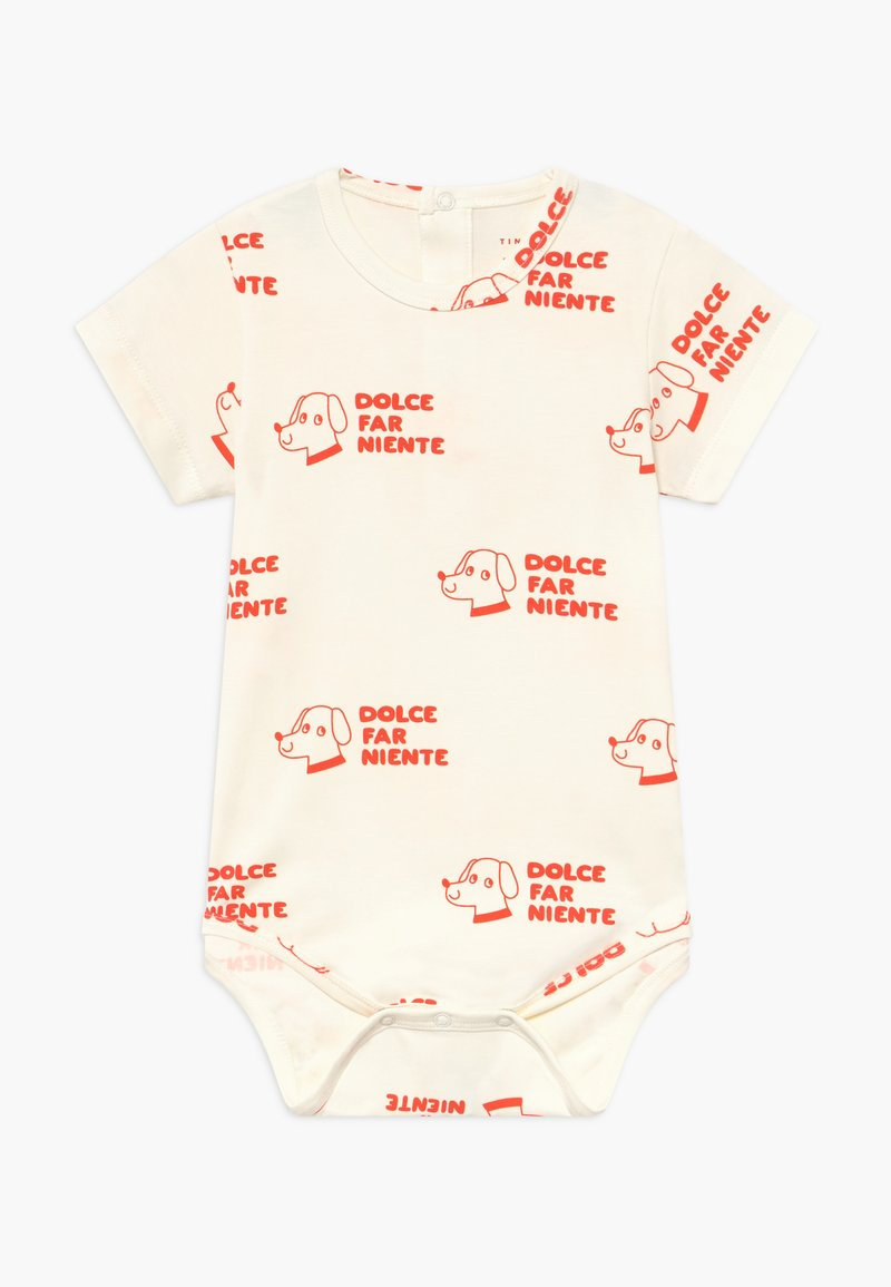 TINYCOTTONS - DOGS  - Body - off-white/red