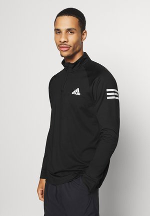 TENNIS CLUB SPORTS TRACK  - Long sleeved top - black/white