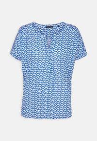 Marc O'Polo - SHORT SLEEVE PLACKET - Print T-shirt - multi - 0