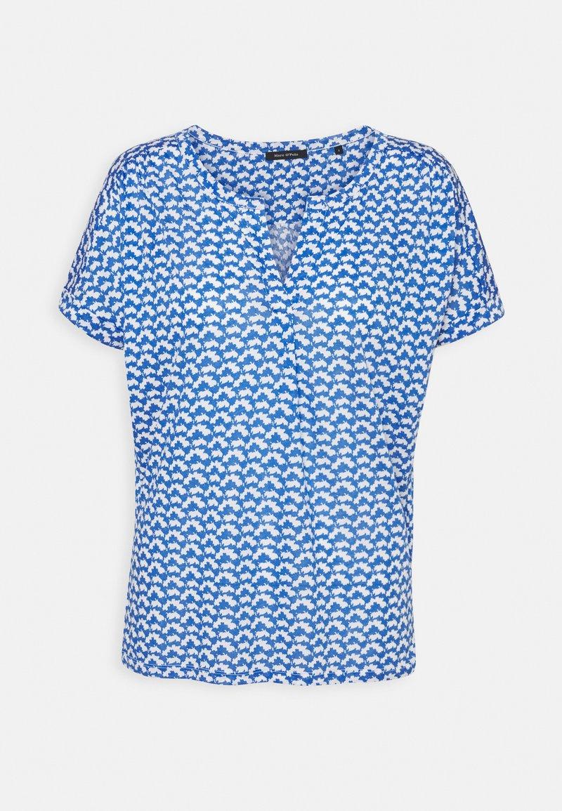 Marc O'Polo - SHORT SLEEVE PLACKET - Print T-shirt - multi
