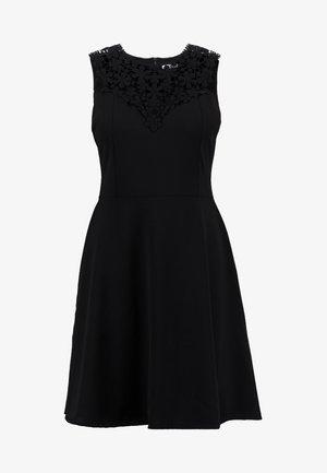 BUST SKATER DRESS - Cocktail dress / Party dress - black