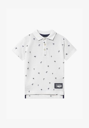 SMALL BOYS POLO PALM TREE - Polo shirt - weiß