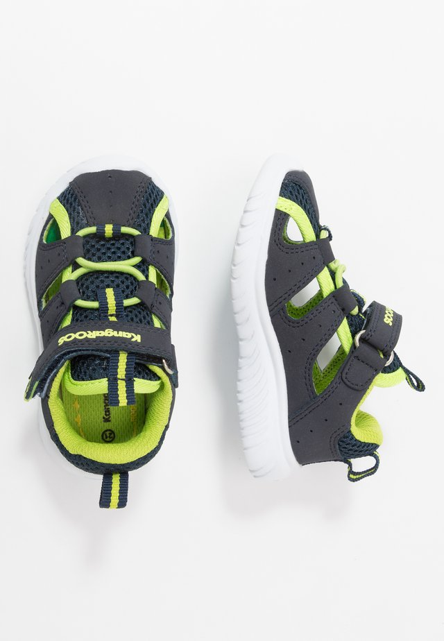 KI-ROCK LITE - Sandaler - dark navy/lime