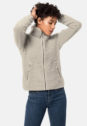 HIGH CLOUD - Fleece jacket - dusty grey