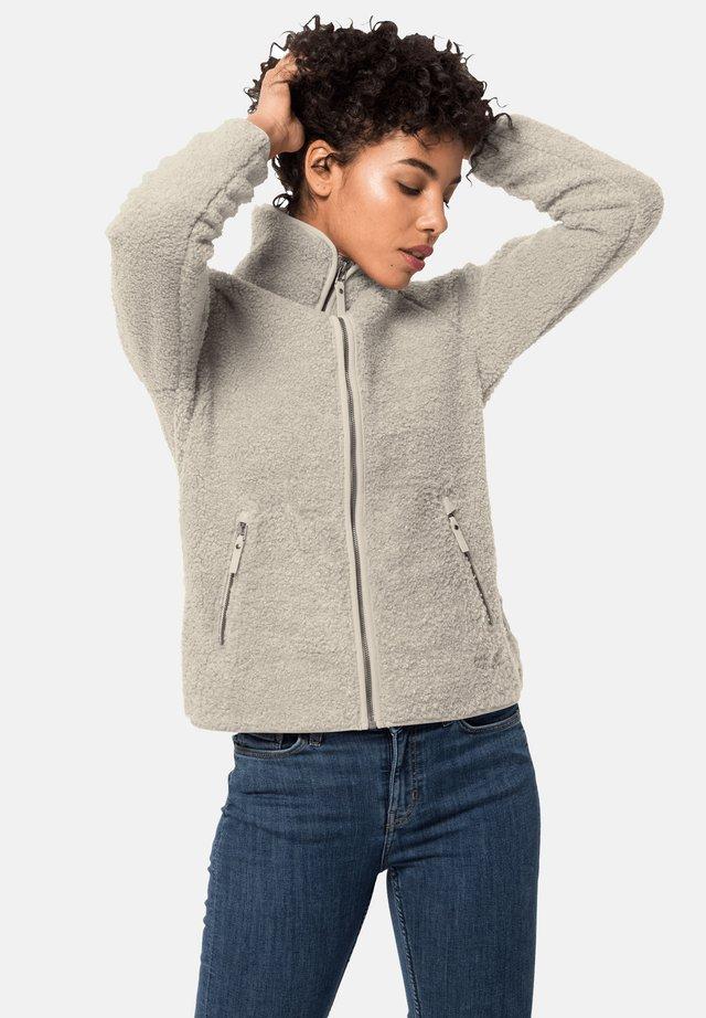 HIGH CLOUD - Fleece jacket - dusty grey