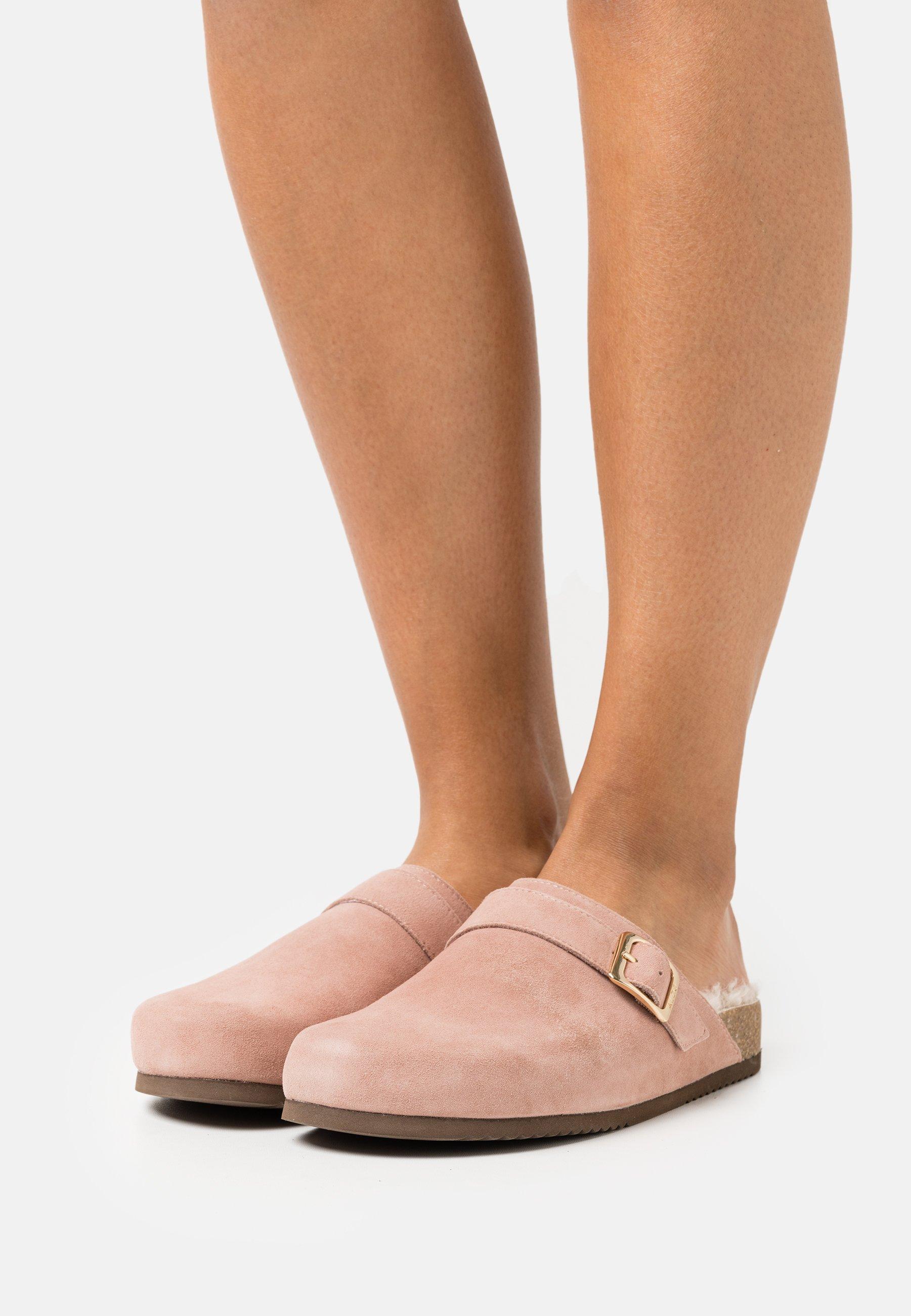 Women Slippers - bone