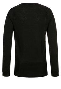 ODLO - CREW NECK WARM KIDS - Undershirt - black - 1