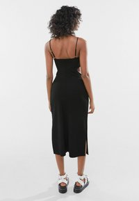 Bershka - WITH CUT-OUT SIDES - Day dress - black