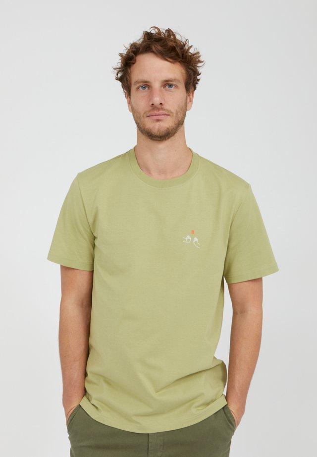 T-shirt basic - sage