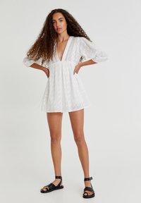 PULL&BEAR - Day dress - white - 7