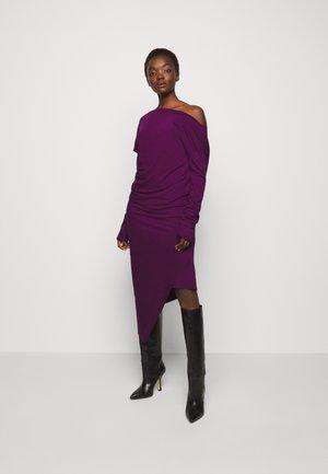 RAY DRESS - Vestito di maglina - purple
