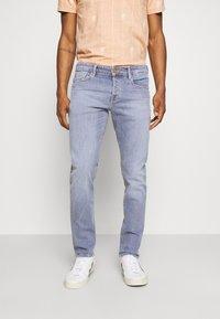 Scotch & Soda - POP OF SMOKE - Slim fit jeans - blue denim - 0