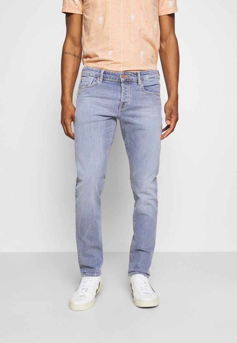 Scotch & Soda - POP OF SMOKE - Slim fit jeans - blue denim