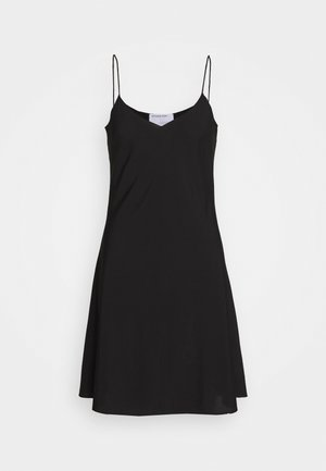 VALERIE SLIP DRESS - Day dress - black