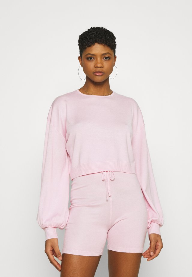SET - Svetr - pink